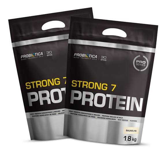 Kit Combo 2x Strong 7 Protein (1800g) - Probiótica  (0)
