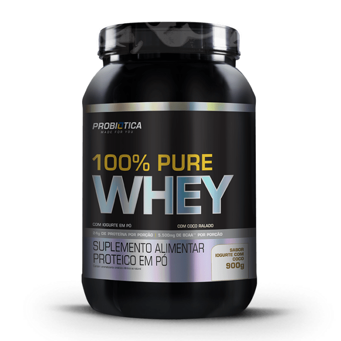 100% Pure Whey 900g - Probiótica (0)