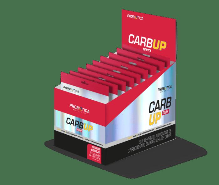 O Carb Up Gum (10unid-72g) Cereja - Probiótica  (0)