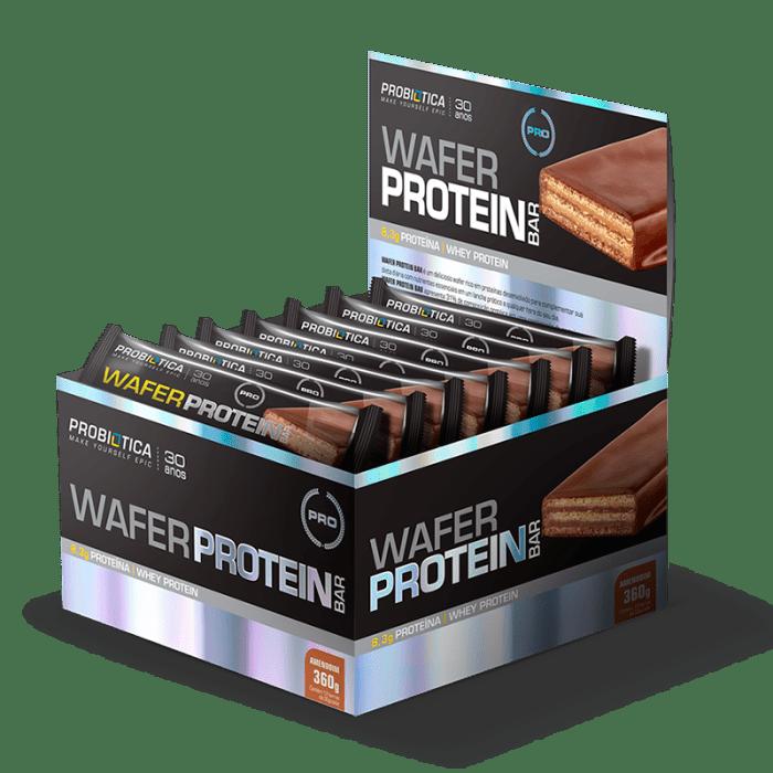 Wafer Protein Bar (12unid-30g) - Probiótica  (0)