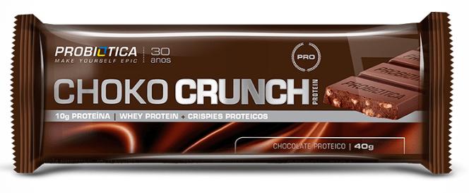 Choko Crunch Chocolate Proteico ( unidade 40g ) - Probiótica  (0)