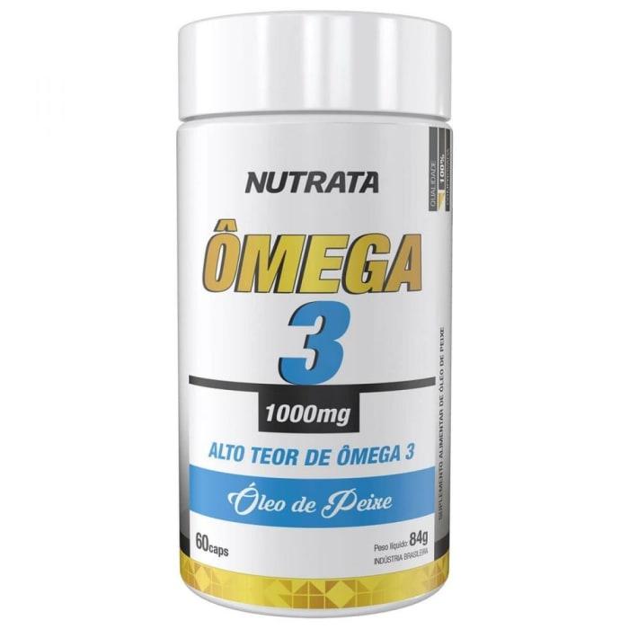 Ômega 3 1000mg - 60 Cápsulas - Nutrata  (0)