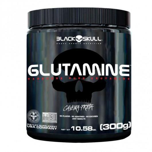 Glutamina 300g - Black Skull (0)