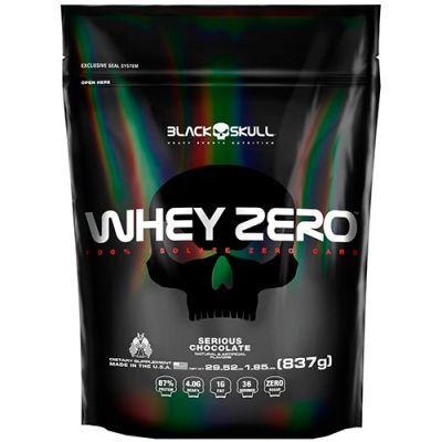 Whey Protein Zero Refil 837g - Black Skull (0)