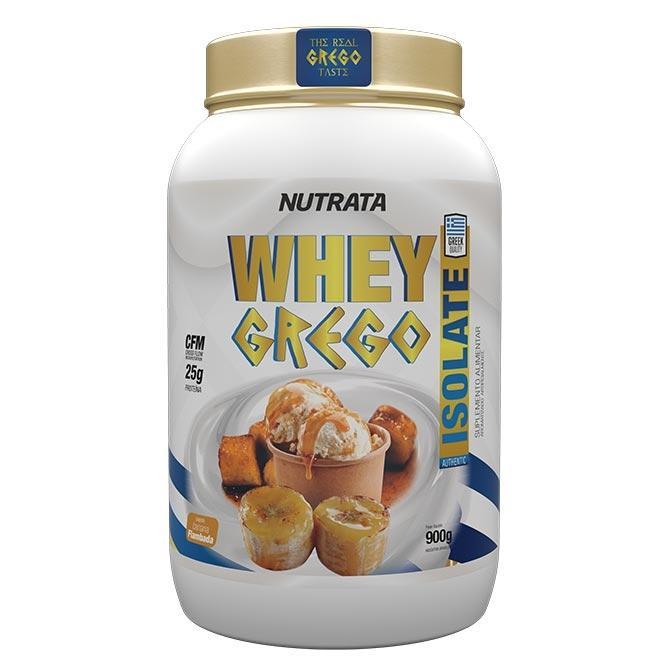 Whey Grego Isolate 900g - Nutrata (0)