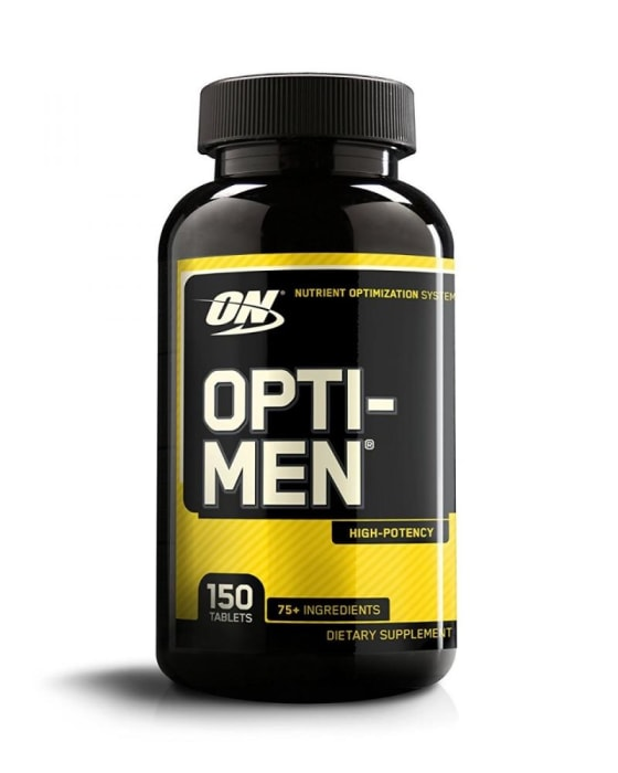 OptiMen Opti-Men Multivitamínico 150 Cápsulas - Optimum Nutrition  (0)