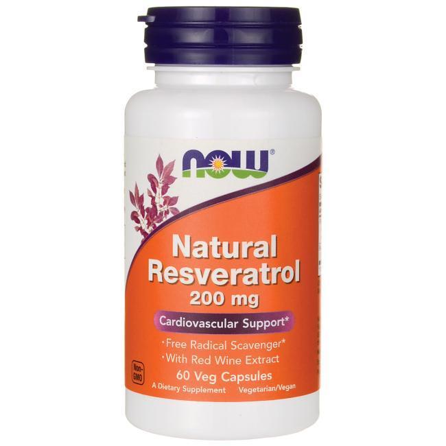 Resveratrol 60 cápsulas - Now Foods (0)