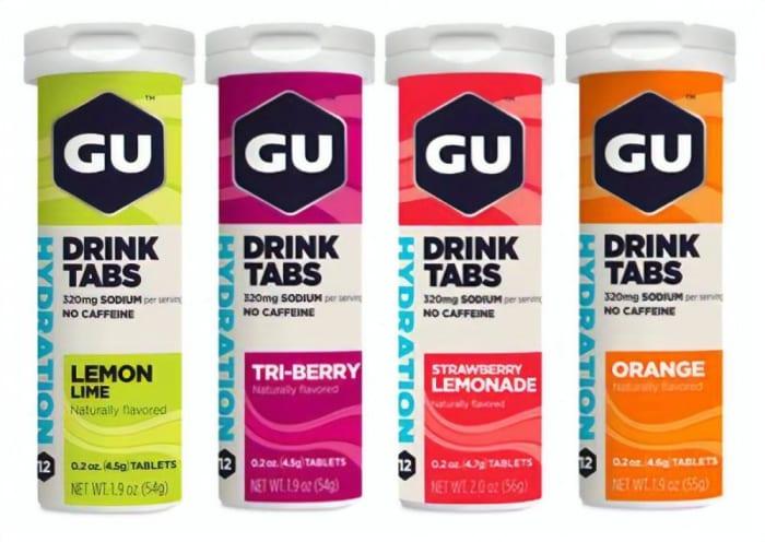 Gu Hydration Drink Tabs (Tubo com 12 pastilhas ) - 54g - Gu Energy Labs (0)