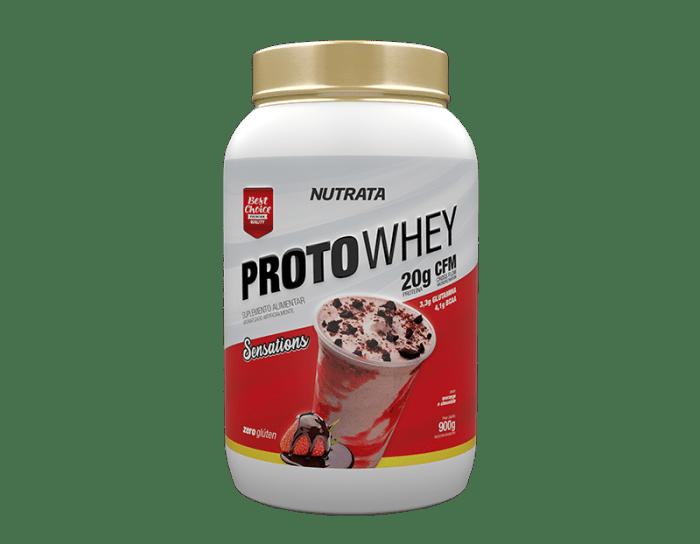 Proto Whey 900g - Nutrata (0)