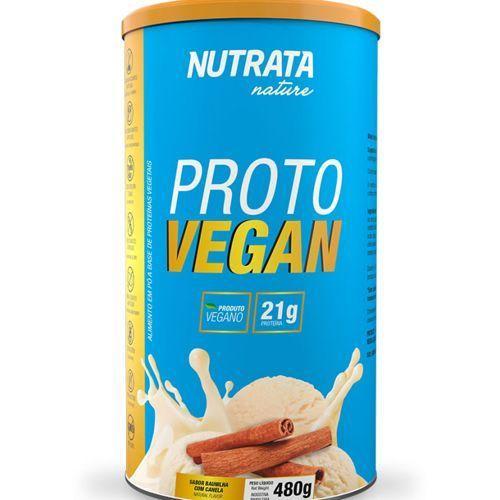 Proto Vegan - 480g Baunilha com Canela - Nutrata (0)