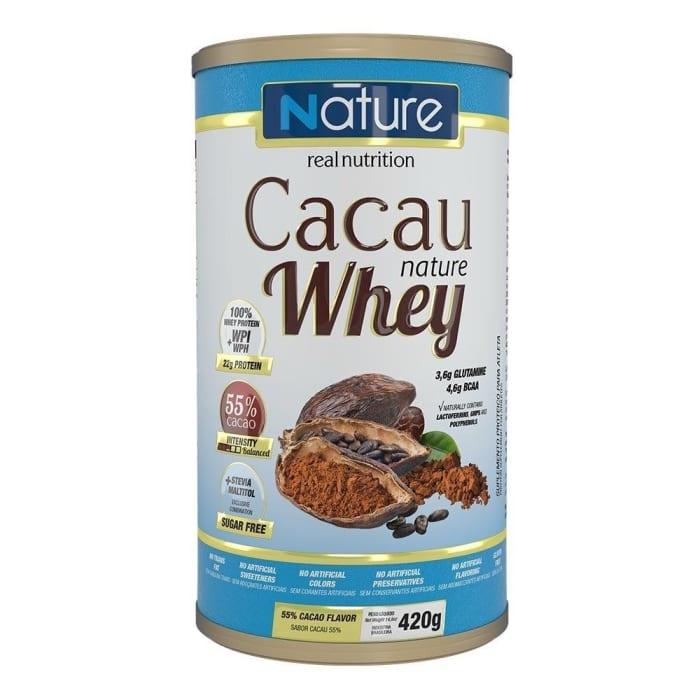 Cacau Nature Whey 420g 55% Cacao 420g - Nutrata (0)