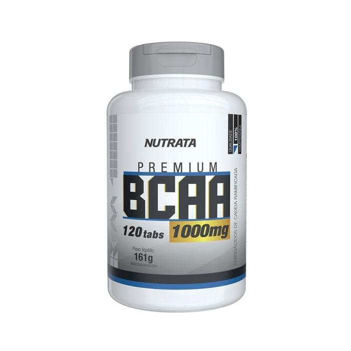 Bcaa Premium 100mg 120 Cápsulas - Nutrata (0)