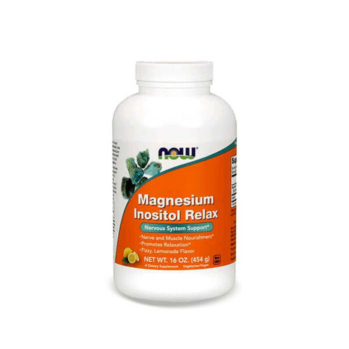 Magnesium Inositol Relax 454g - Now Foods (0)