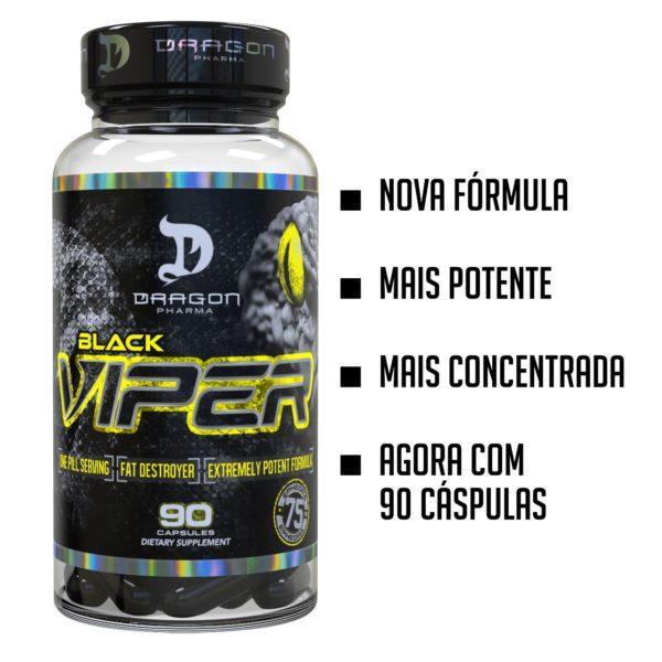 Black Viper 90 caps - Dragon Phama (0)