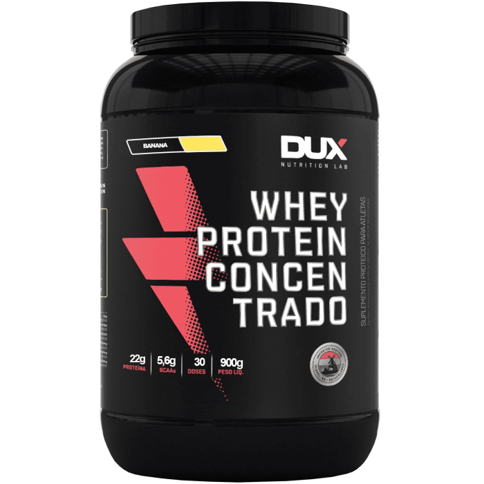 Whey Protein Concentrado 900g SABOR BANANA – Dux Nutrition  (0)