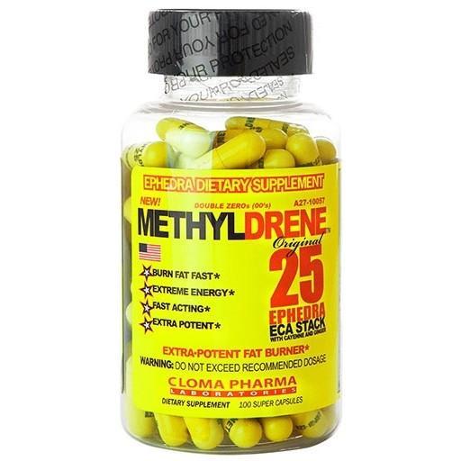 Methyldrene 25 EPH 100 Cápsulas - Cloma Pharma (0)