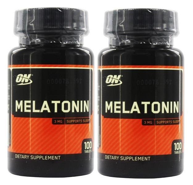 Kit 2 Melatoninas ON 3mg 100 Cápsulas - Optimum Nutrition  (0)