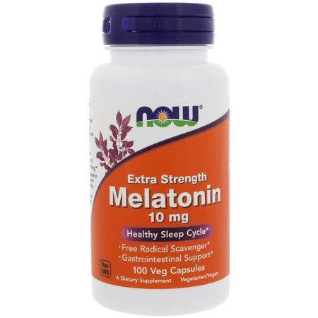 Melatonina10mg - Extra Forte - Now Foods (0)