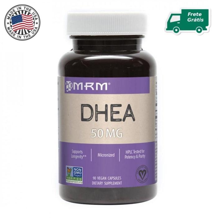 DHEA 50mg (90 Cápsulas) - MRM - FRETE GRÁTIS (0)