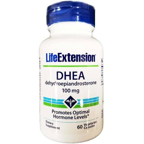 DHEA 100 mg 60 Cápsulas - Life Extension  (0)