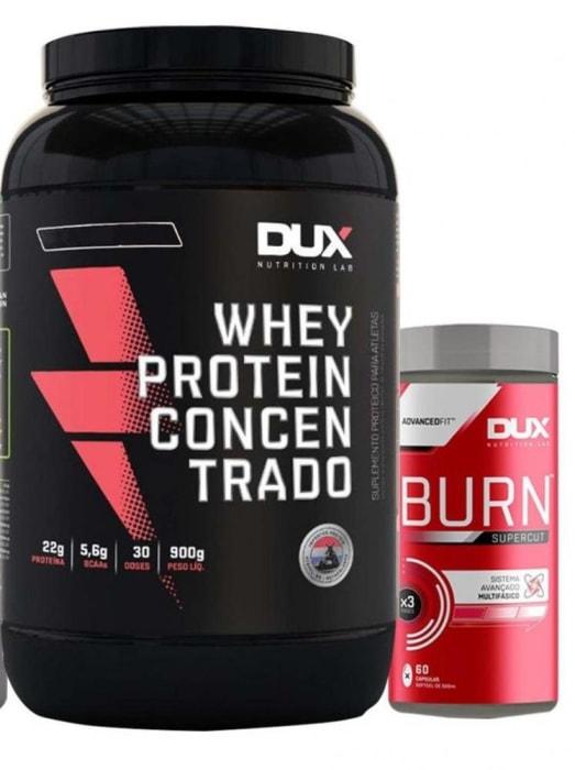 Whey Protein Concentrado 900g + SuperCut - Dux Nutrition  (0)